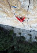Rock Climbing Photo: Jeff Crow, Central Pillar of Frenzy