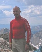 Rock Climbing Photo: Looking Good at top of Quandary Peak after leading...
