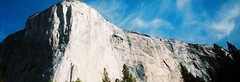 Rock Climbing Photo: El Cap and Zodiac in Yosemite Valley 10/07