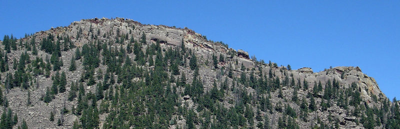 Rock Climbing Photo: SoBo as viewed from the west.