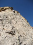 Rock Climbing Photo: Paul on Pitch 3