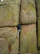 Rock Climbing Photo: Gabe on Ha Tayvaw.