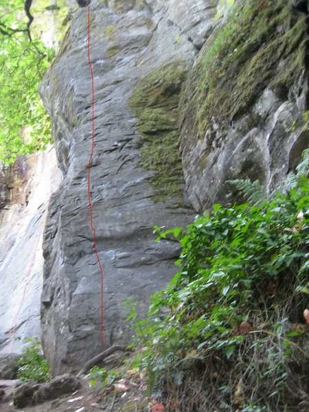 Rock Climbing Photo: The rubicon...