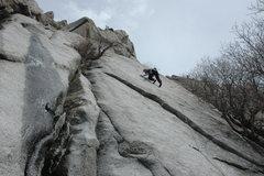 Rock Climbing Photo: Barefoot in Barbados