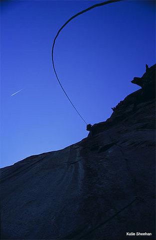 Rock Climbing Photo: LT steepness!