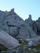 Rock Climbing Photo: MacDonald-Bartlett variation possibility.  This do...