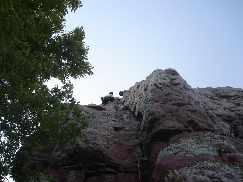 Rock Climbing Photo: Pedestal left.