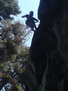 Rock Climbing Photo: top out