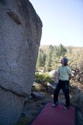 Rock Climbing Photo: Eager