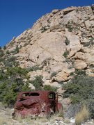 Rock Climbing Photo: Yes... I need roadside assistance. Uh, mam, you're...