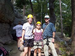 Rock Climbing Photo: Me, srcfc member and her friend.