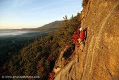 Rock Climbing Photo: Tim Martel on Sky Streak, 2004.