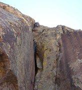 Rock Climbing Photo: Third headwall pitch.