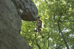 Rock Climbing Photo: Tower Arete's rest stop
