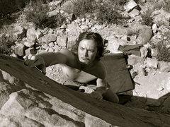 Rock Climbing Photo: Highball on Piano Ridge, Horsetooth Res.