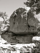 Rock Climbing Photo: Almost there....