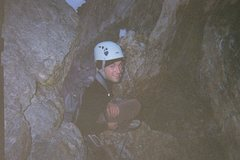 Rock Climbing Photo: 5 a.m. starting the lower Exum