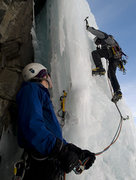 Rock Climbing Photo: Taking the lead on Stairway to Heaven, Silverton, ...