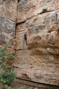 Rock Climbing Photo: Sacrificial Lizard