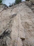 Rock Climbing Photo: Kyle climbing
