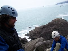 Rock Climbing Photo: marc and tom