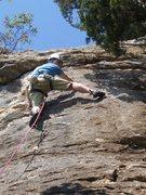 Rock Climbing Photo: Erik on Freefall Cafe.