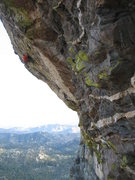 Rock Climbing Photo: EF-badass-R, the grand master in the unsent variat...