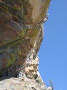 Rock Climbing Photo: Jesse B. (for badass) Schultz in his cowboyish ons...