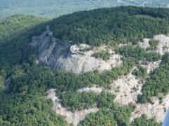 Rock Climbing Photo: Mnt.Yonah from the air