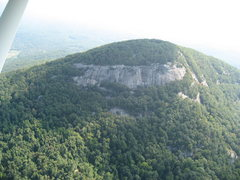 Rock Climbing Photo: Mnt. Yonah from the air 09/08