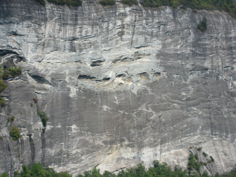 Closer shot of part of the face, WHitesides 09/08