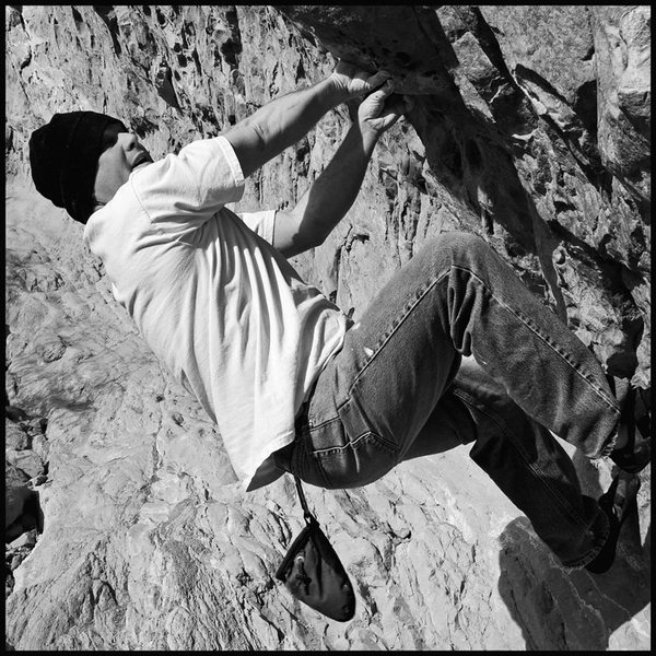 Bouldering at the Blow Outs   Garden of the Gods CO