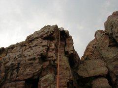 Rock Climbing Photo: Crux, 2007