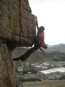 Rock Climbing Photo: Andy Nguyen Onsighting Protection from the Virus (...