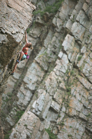 Rock Climbing Photo: The Highlander.
