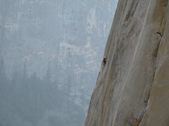 Rock Climbing Photo: Soloist on Mescalito