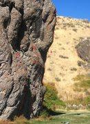 Rock Climbing Photo: 1: Todd's Mole Hill (10b) 2: Clip Me Deadly (11c) ...