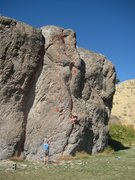 Rock Climbing Photo: 1: Two Minute Crack (6+) 2: Rock-A-Bye Baby (9+) 3...