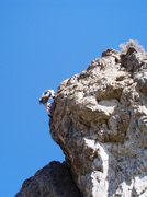 Rock Climbing Photo: Pulling over the roof