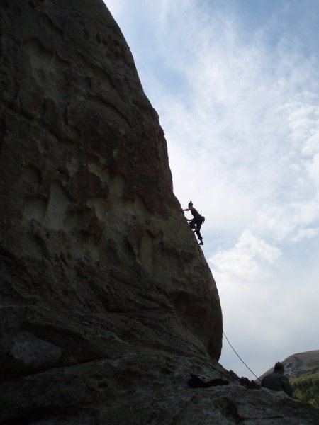 Rock Climbing Photo: great shot by dottie cross.