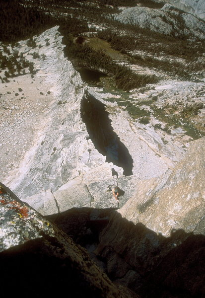 The Nightingale Arete (NW Arete) of Vogelsang Peak, Yosemite