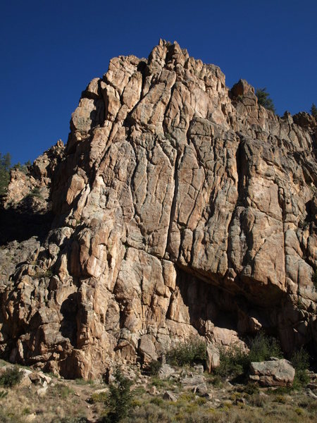 The first buttress in Taylor Canyon.