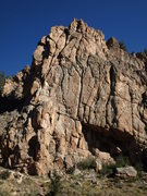 Rock Climbing Photo: The first buttress in Taylor Canyon.
