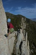 Rock Climbing Photo: Another photo of the crux