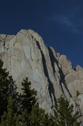 Rock Climbing Photo: The Great Divide follows the left of the two arete...