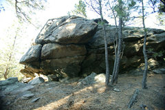 Rock Climbing Photo: str-8 up problems both sides of arete