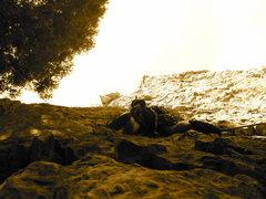 Rock Climbing Photo: lookin up