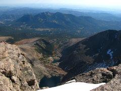 Rock Climbing Photo: looking east on longs