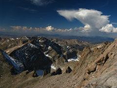 Rock Climbing Photo: south side of longs