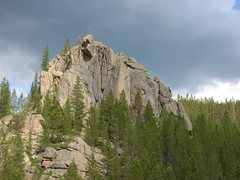 Rock Climbing Photo: Fun times down valley.